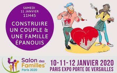 [Événement] Conférence au Salon des Familles 2020