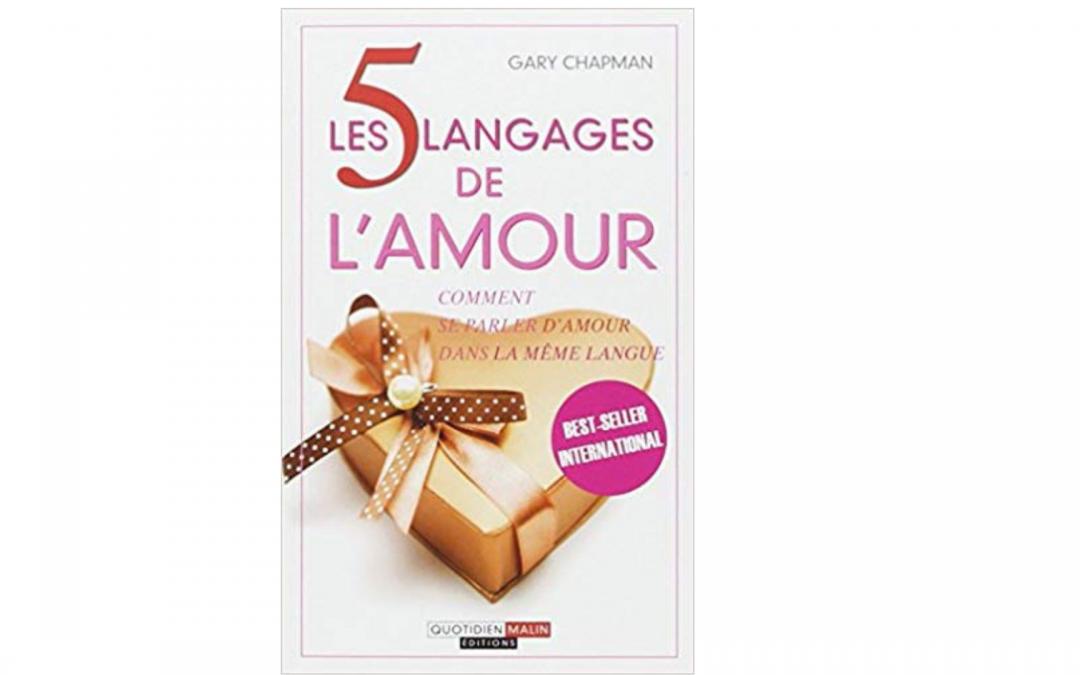 livre langages de l'amour