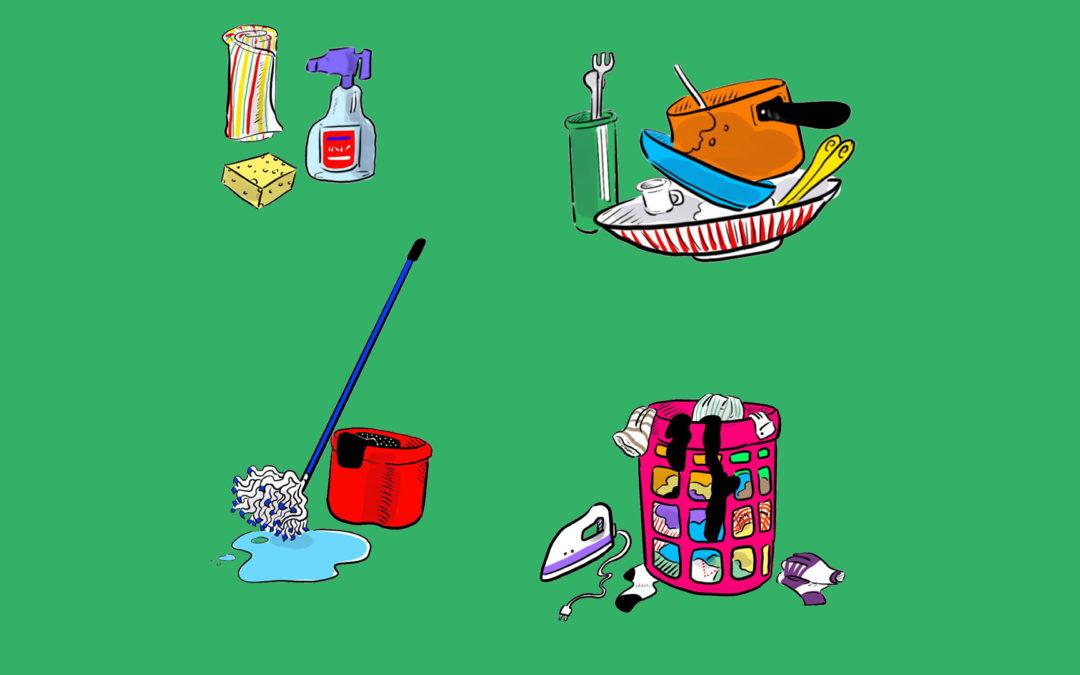 Les tâches matérielles: comment arriver à un bon équilibre pour chacun?