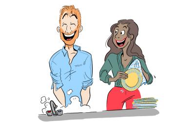 [SÉQUENCE COUPLE] Tâches ménagères : qui fait quoi ?