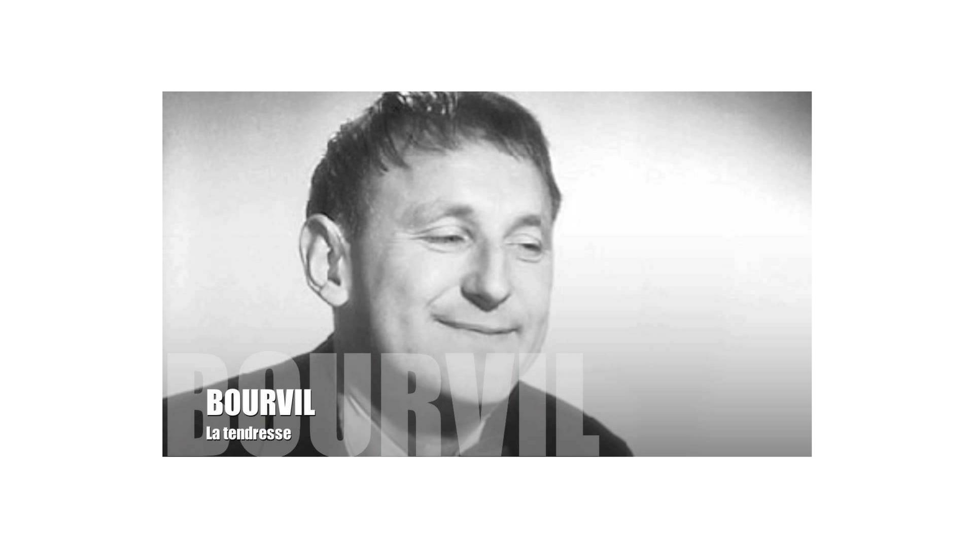 La tendresse en chanson, c'est Bourvil qui en parle le mieux !