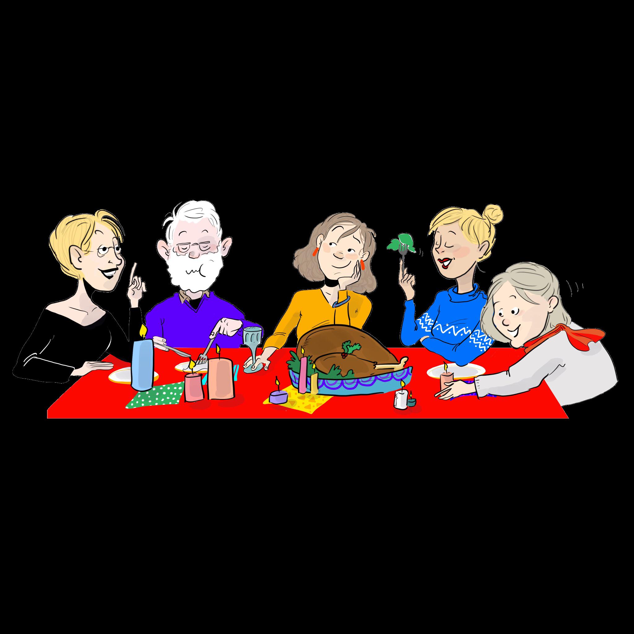 Comment passer de bonnes fêtes en famille?