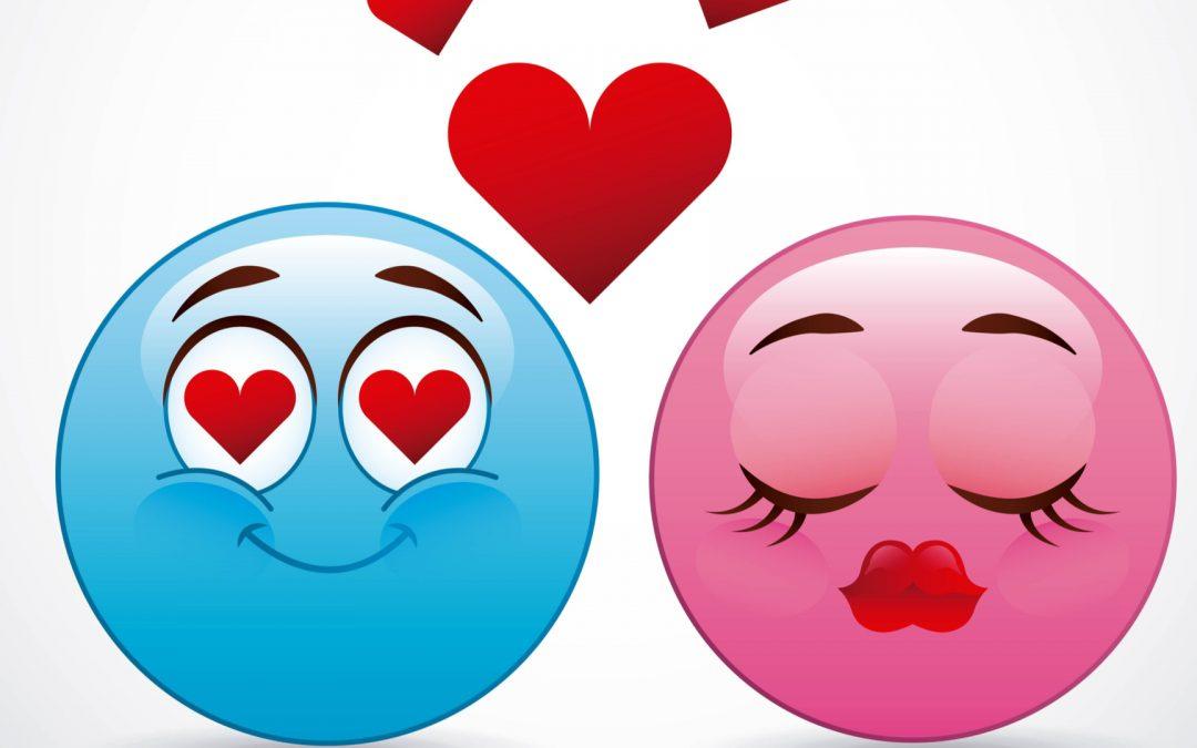 emoji amoureux