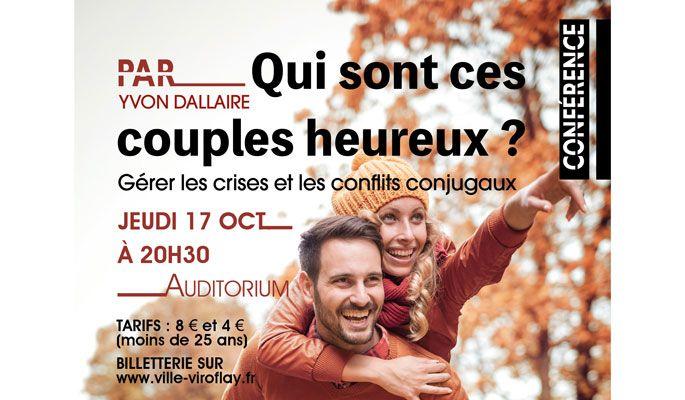 [Événement] Yvon Dallaire : Gérer les crises et les conflits conjugaux