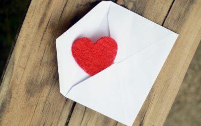 Une lettre d'amour pour la Saint Valentin