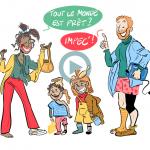 Famille débordée, rythme fou