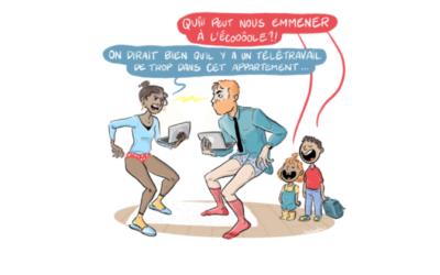 [Les brèves de Max & Léa] Couple & Télétravail : un sacré challenge !