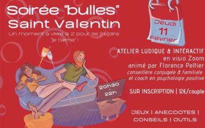 [Événement] Soirée «bulles» Saint-Valentin