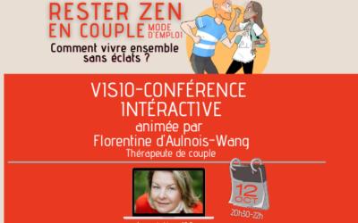 [Visio-conférence] RESTER ZEN EN COUPLE | Mode d'emploi